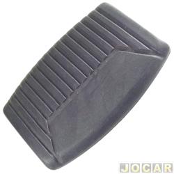 Capa de pedal - alternativo - F1000 - 1993 até 1998 - freio e embreagem - cada (unidade)