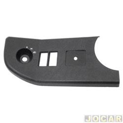 Moldura do painel de instrum. - alternativo - F-1000 1993 até 1999 - inferior - lado do motorista - cada (unidade)