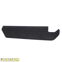 Tapete do para-choque - F-1000 1993 até 1999 - preto - traseiro - lado do motorista - cada (unidade)