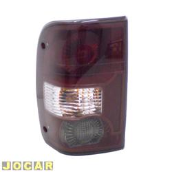 Lanterna traseira - Original Ford - Ranger 2004 até 2009 - lado do motorista - cada (unidade) - 51.5513B505BA