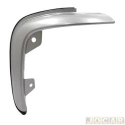 Aplique da grade - BMJ - Ranger 2004 até 2009 - 3 peças - filetes verticais s/ abertura para emblema - cromado - dianteiro - jogo - 8.1 / 026