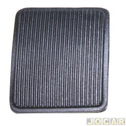 Capa de pedal - alternativo - Ranger 1994 até 2012 - freio/embreagem - cada (unidade)