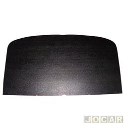 Revestimento do teto - alternativo - F1000 1979 até 1992 - preto - cada (unidade)