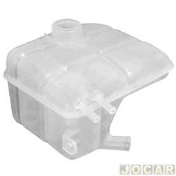 Reservatório de água do radiador - Focus 2000 em diante  - sem sensor - exceto versão Ghia   - cada (unidade)