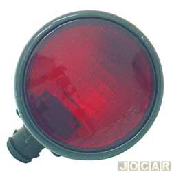 Lanterna do para-choque - alternativo - Ka até 2001 - traseiro - vermelha - cada (unidade)