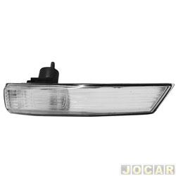 Lanterna do retrovisor externo - Fitam - Focus hatch/sedan 2009 até 2013 - cristal (branca) - lado do passageiro - cada (unidade) - 31074-D