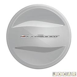 Capa de estepe - alternativo - EcoSport 2013 em diante - prata dublin - cada (unidade)