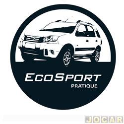 Capa de estepe - Comix Acessórios - EcoSport 2003 em diante - silver eco - cada (unidade) - CC546