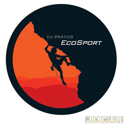 Capa de estepe - Comix Acessórios - EcoSport 2003 em diante - alpinista - cada (unidade) - CC541