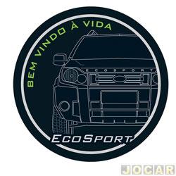Capa de estepe - Comix Acessórios - EcoSport 2003 em diante - bem vindo - cada (unidade) - CC539