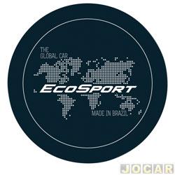 Capa de estepe - Comix Acessórios - EcoSport 2003 em diante - global branca - cada (unidade) - CC600