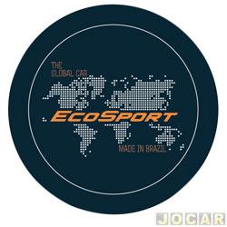 Capa de estepe - Comix Acessórios - EcoSport 2003 em diante - global laranja - cada (unidade) - CC601