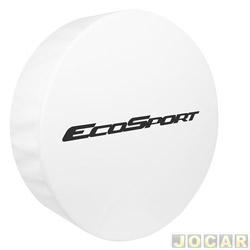 Capa de estepe - Comix Acessórios - EcoSport 2003 em diante - Branca - cada (unidade) - CCB600