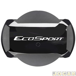 Capa de estepe - Marçon - EcoSport 2013 até 2017 - Preto Ebony - parcial - cada (unidade) - PEC-025