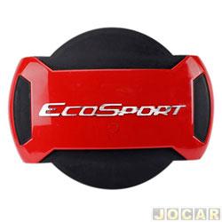 Capa de estepe - Marçon - EcoSport 2013 em diante - Vermelho Arpoador - parcial - cada (unidade) - PEC-030