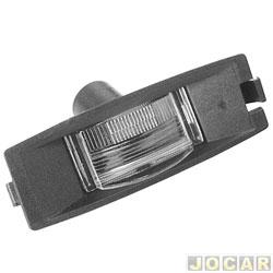 Lanterna da placa - Fiesta 1996 até 2002- Ka até 2007 - cada (unidade)