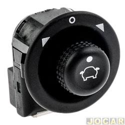 Interruptor do retrovisor - Kostal - Fiesta 1996 até 2014 - Focus 2001 até 2012 - Mondeo 1994 até 2001 - cada (unidade) - KOS 3930362