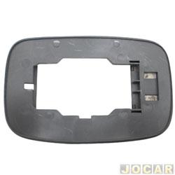 Base da lente do retrovisor - alternativo - Fiesta 1996 até 2002 - lado do motorista - cada (unidade)
