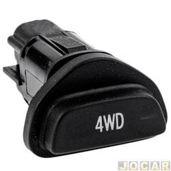 Interruptores do painel - Kostal - Ecosport 2003 até 2012 - 4WD tração 4x4 - cada (unidade) - 3166625