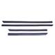 Friso lateral - Fiesta 2000 até 2002  - 4 portas - preto - jogo