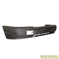 Para-choque dianteiro - alternativo - Versailles/Royale 1992 até 1996 - de fibra - preto - cada (unidade)