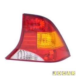 Lanterna traseira - Original Ford - Focus sedan 2000 até 2008 - lado do passageiro - cada (unidade) - 1M51/13A602/BA