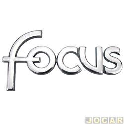 Letreiro - alternativo - Focus hatch/sedan 2000 até 2008 - Focus - cromado - cada (unidade)