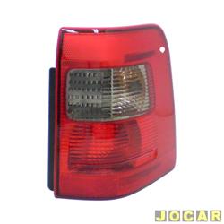 Lanterna traseira - Original Ford - EcoSport até 2007 - pisca fumê - lado do passageiro - cada (unidade) - N1513A602CA