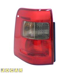 Lanterna traseira - Original Ford - EcoSport até 2007 - pisca fumê - lado do motorista - cada (unidade) - N1513A603CA