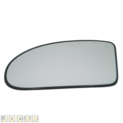 Lente do retrovisor com base - SPJ - Focus hatch/sedan - 2000 até 2008  - lado do motorista - cada (unidade) - EB101