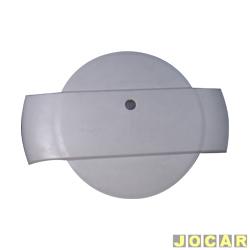 Capa de estepe - Baja - EcoSport - 2003 em diante - de fibra - tipo calota - para pintar - cada (unidade) - 200159 prim