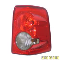Lanterna traseira - Original Ford - EcoSport 2008 em diante - lado do passageiro - cada (unidade) - N1513A602AB