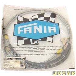Cabo do freio de mão - Fânia - Fiesta 1996 até 2006 - cada (unidade) - 34-393