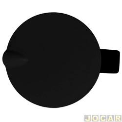 Portinhola de combustível - alternativo - Courier - preta - cada (unidade)