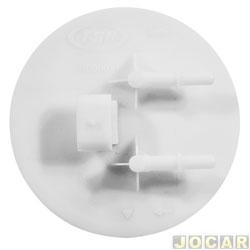Flange da bomba de combustível - TSA - Fiesta 2002 até 2014 - EcoSport 1.0/1.6 2002 até 2012 - Gasolina - Flex - cada (unidade) - T-030031