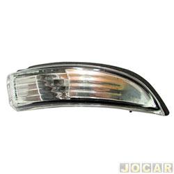 Lanterna do retrovisor externo - Metagal - New Fiesta 2013 até 2018 - lado do passageiro - cada (unidade) - RISR0295