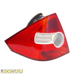 Lanterna traseira - Original Ford - Fiesta Sedan 2005 em diante - lado do motorista - cada (unidade) - 6S65/13A603/AB
