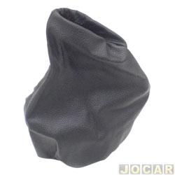 Coifa da alavanca do freio de mão - alternativo - Courier - 2004 em diante - de couro - preto - cada (unidade)