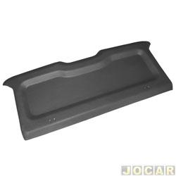 Tampão do porta-malas - alternativo - Plastiron/Autimex - Fiesta 2003 até 2007 - preto - cada (unidade) - 42062