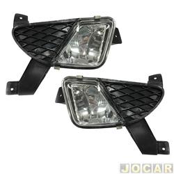 Kit de farol de milha - importado - Ka 2002 até 2007 - jogo - DM.2635
