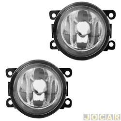 Kit de farol de milha - alternativo - Shocklight - Ka 2012 até 2014 - com grade - botão modelo original - cada (unidade) - SL-101410