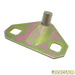 Batente da fechadura do capô traseiro - alternativo - 147/Europa/Spazio - 1976 até 1986 - cada (unidade)