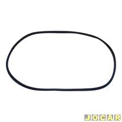 Borracha do para-brisa - alternativo - 147 - sem encaixe para friso - cada (unidade)