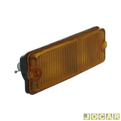 Lanterna dianteira - alternativo - Artmold - 147 - 1976 até 1980 - âmbar (amarela) - lado do passageiro - cada (unidade) - 1210