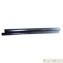 Spoiler lateral - alternativo - Tempra/Tipo 1992 até 1996 - 4 portas - preto - par