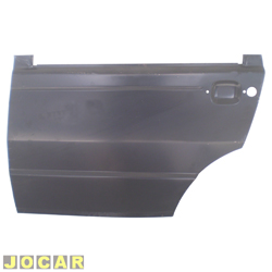 Folha de porta - alternativo - Uno - 1987 até 2004 - Premio/Elba - 1985 até 1996 - 4 portas  - para pintar - traseiro - lado do motorista - cada (unidade)