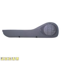 Bolsa da porta - alternativo - Palio/Siena 1996 até 2000 - 4 portas - cinza - lado do motorista - cada (unidade)
