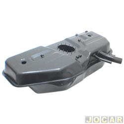 Tanque de combustível - alternativo - Igasa - Palio até 2003 - Siena até 2004 - exceto weekend - 47L - com furo para válvula - com 12 parafusos - cada (unidade) - 2015