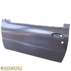 Folha de porta - alternativo - Palio - 1996 at� 2003 - Strada - 1998 at� 2004 - 2 portas  - para pintar - lado do motorista - cada (unidade)