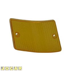 Lente da lanterna dianteira - alternativo - 147 Europa - Lente inferior - âmbar (amarela) - lado do motorista - cada (unidade)
